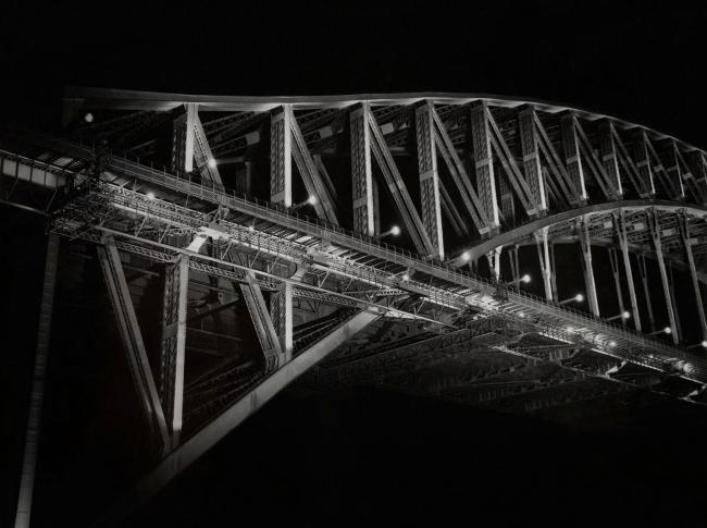 Max Dupain (Harbour Bridge Closed at Night) 1946