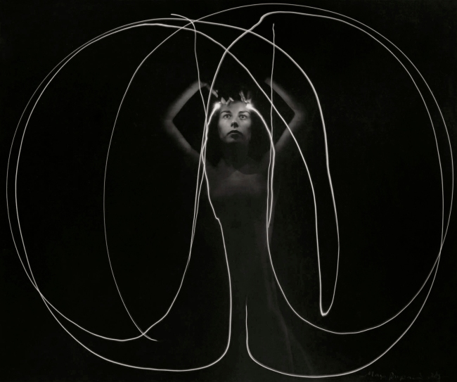Max Dupain (Nude Figure and Light) 1930s