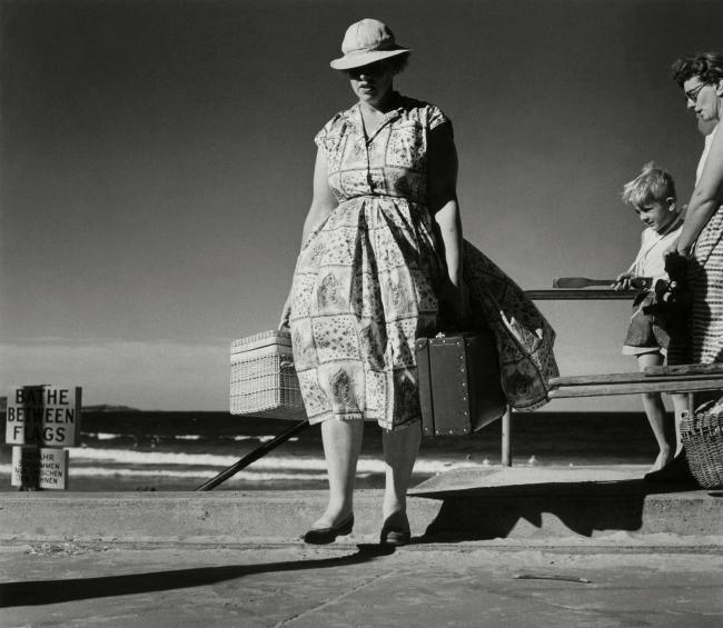 Dupain. 'Picnicker Leaving the Beach' Nd