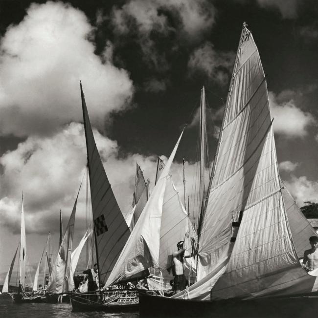 Max Dupain. 'Rigging Sails' Nd