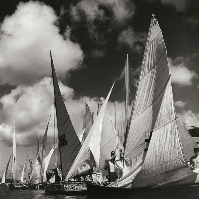 Max Dupain. 'Rigging Sails' Nd