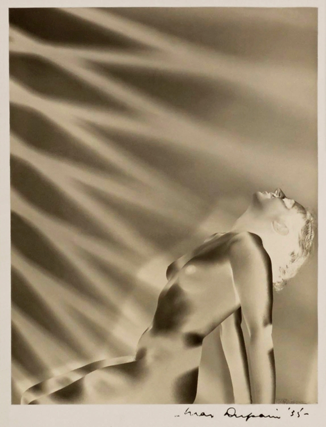 Max Dupain (Solarised Nude and Rays of Light) 1935