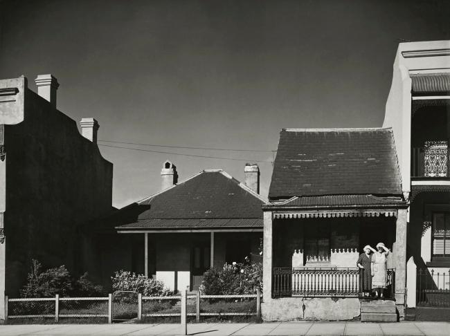Max Dupain. 'Suburban Terraces' Nd