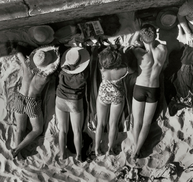 Max Dupain (Sunbaking by the Wall) Nd