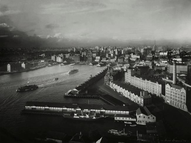 Max Dupain. 'Sydney from South Pylon' 1938
