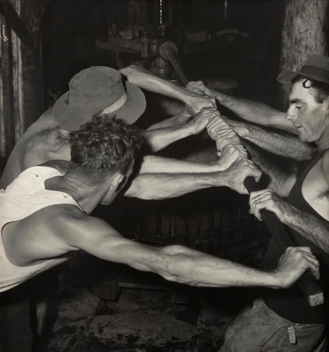 Max Dupain (Three Men at Work) 1940s