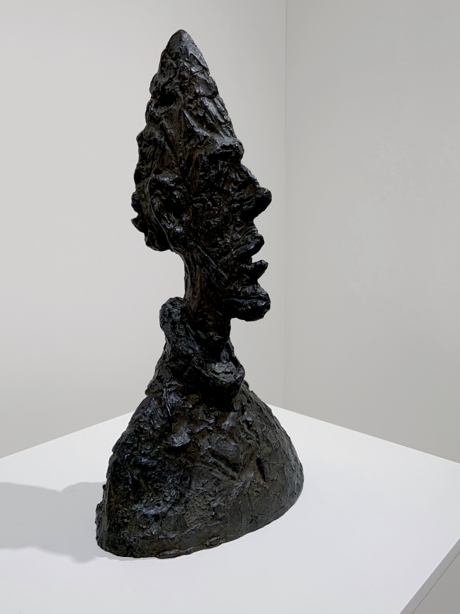 Alberto Giacometti (Swiss, 1901-1966) 'Tall Thin Head' 1954