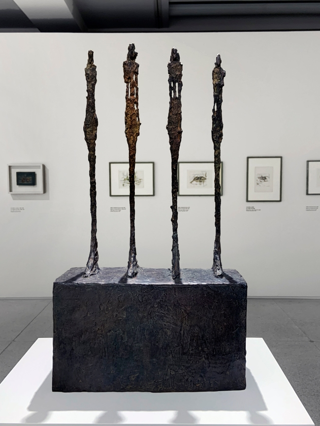Alberto Giacometti (Swiss, 1901-1966) 'Four Women on a Base' 1950