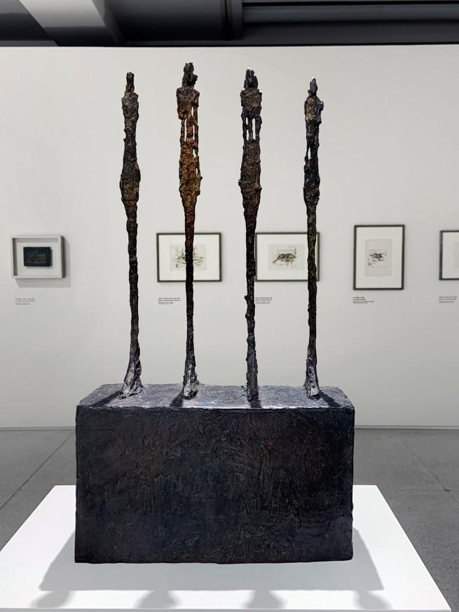 Alberto Giacometti (Swiss, 1901-1966) 'Four Women on a Base' 1950