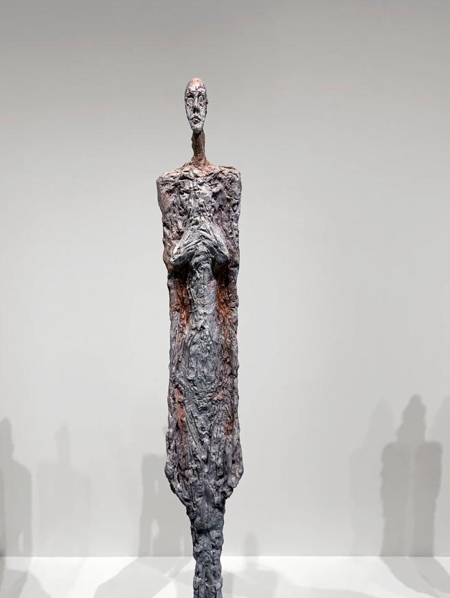 Alberto Giacometti (Swiss, 1901-1966) 'Women of Venice'1956 (installation view detail)