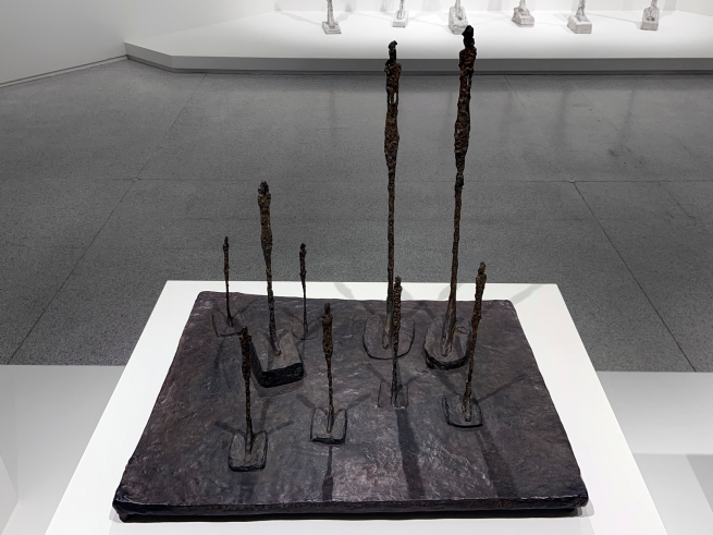 Alberto Giacometti (Swiss, 1901-1966) 'The Glade' 1950 (installation view)