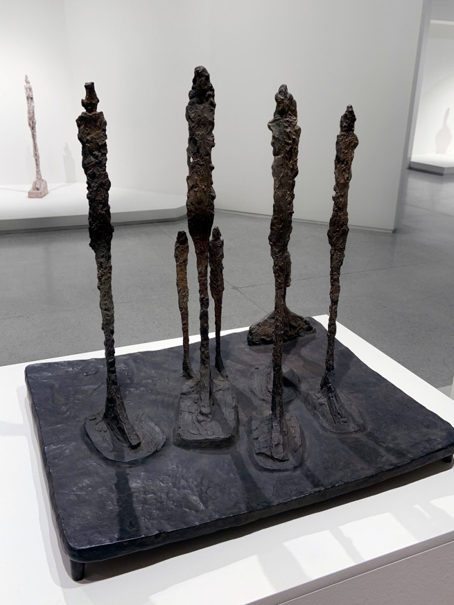Alberto Giacometti (Swiss, 1901-1966) 'The Forest' 1950 (installation view)