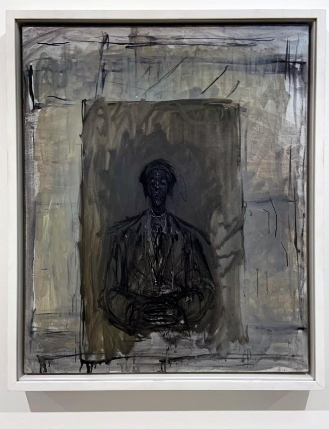 Alberto Giacometti (Swiss, 1901-1966) 'Isaku Yanaihara' 1956-57 (installation view)