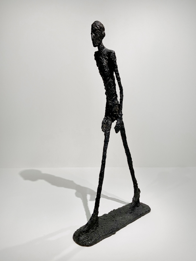 Alberto Giacometti (Swiss, 1901-1966) 'Walking Man I' 1960