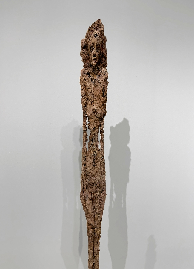 Alberto Giacometti (Swiss, 1901-1966) 'Woman Leoni' 1947-1958 (installation view detail)