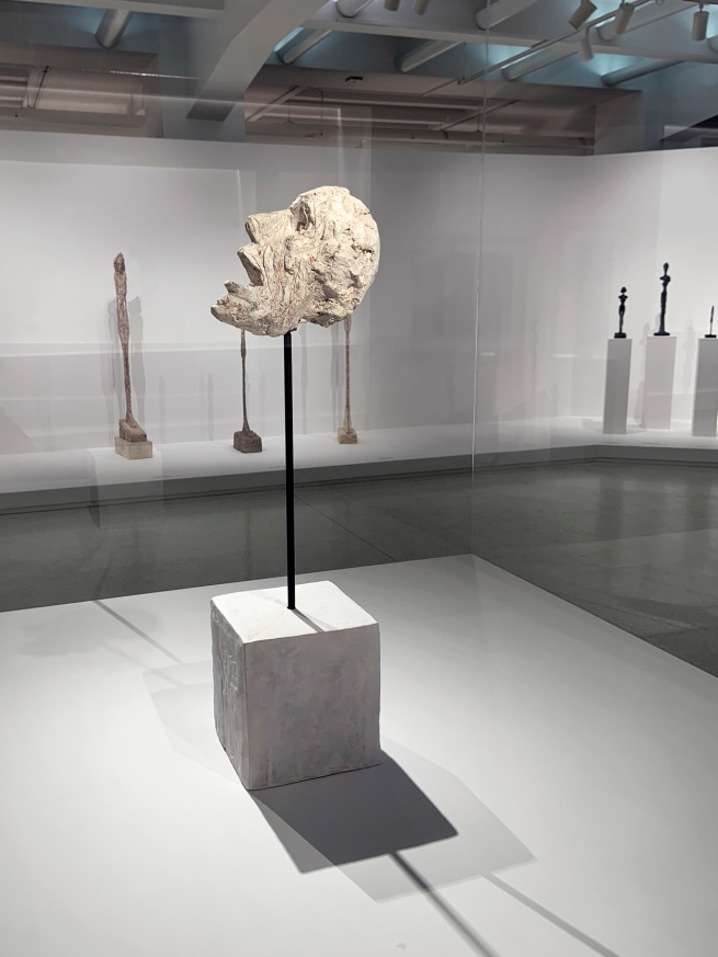 Alberto Giacometti (Swiss, 1901-1966) 'Head on a Rod' 1947 (installation view)
