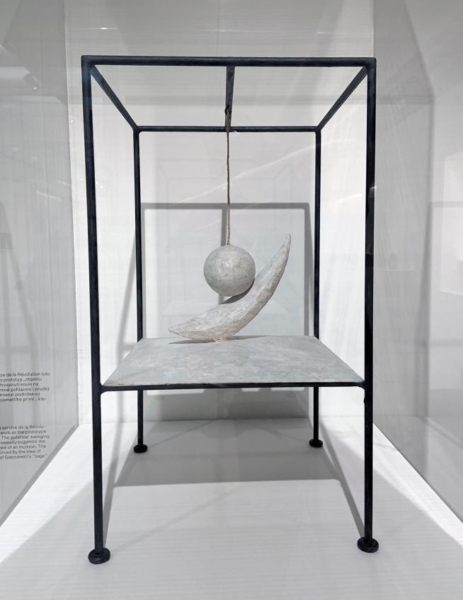 Alberto Giacometti (Swiss, 1901-1966) 'Suspended Ball' 1930-31