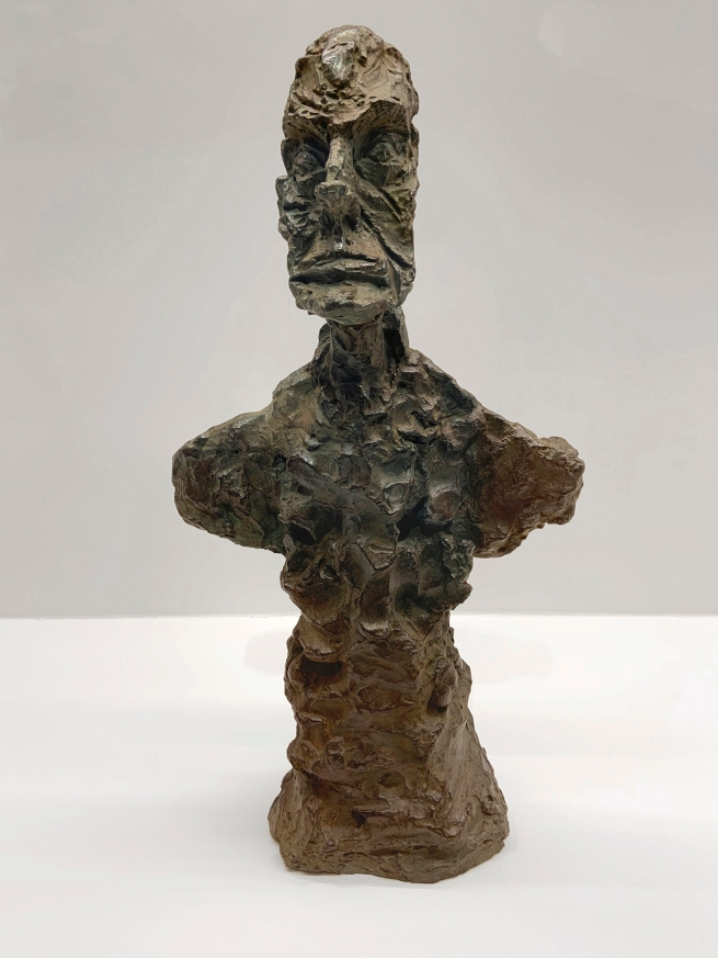 Alberto Giacometti (Swiss, 1901-1966) 'Bust of a Man (known as New York II)' 1965