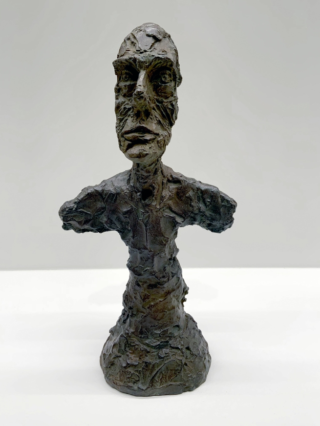 Alberto Giacometti (Swiss, 1901-1966) 'Bust of a Man (known as New York I)' 1965