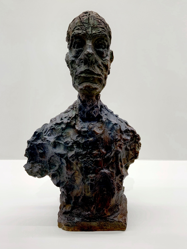 Alberto Giacometti (Swiss, 1901-1966) 'Bust of Diego' 1962