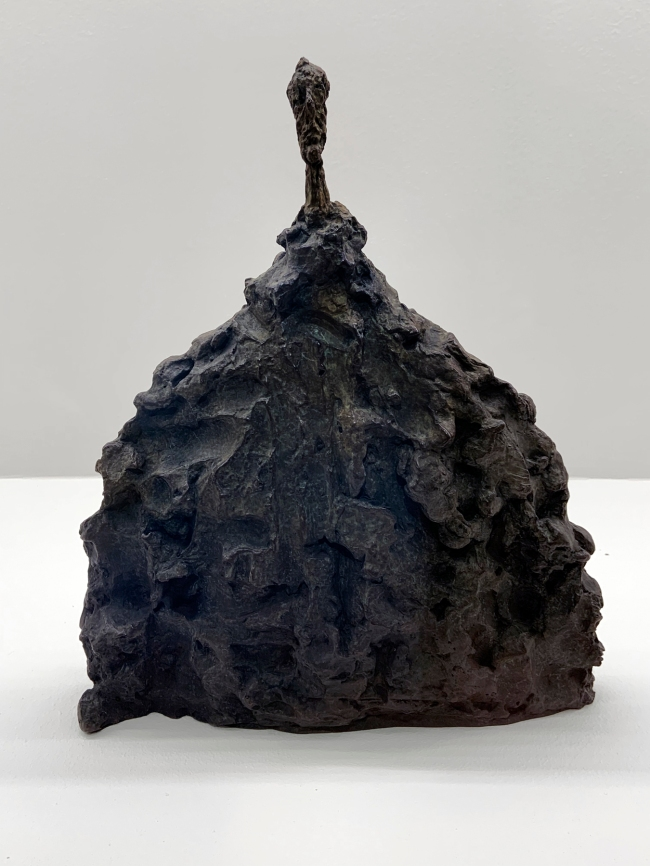 Alberto Giacometti (Swiss, 1901-1966) 'Bust of a Man' 1956
