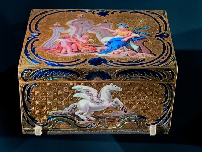 J.M. Lequin. 'Minerva, Mercury, Pegasus' 1750-1752