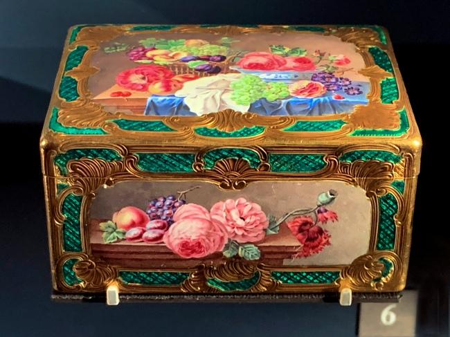 Jean Moynat. 'Basket of fruit and flowers' Paris, 1754-1755