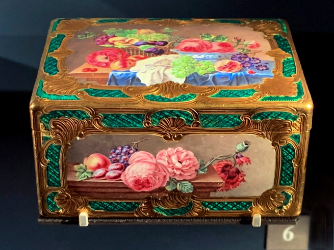 Jean Moynat. 'Basket of fruit and flowers' Paris, 1754-1755