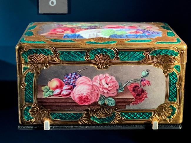 Jean Ducrollay. 'Flowers and fruit' Paris, 1756-1757