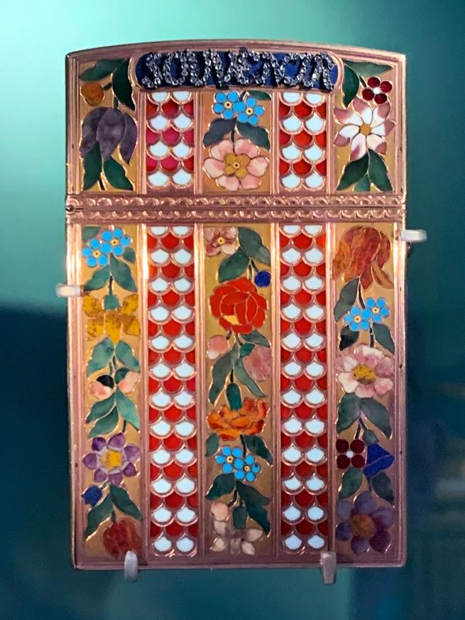 J.C. Neuber (goldsmith) 'Tablet case' Dresden, c. 1775-1780