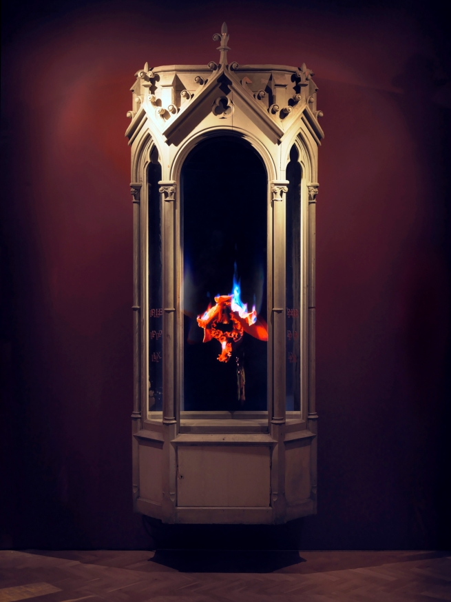 Mat Collishaw (English, b. 1966) 'Auto Immolation 002' 2010 (still)