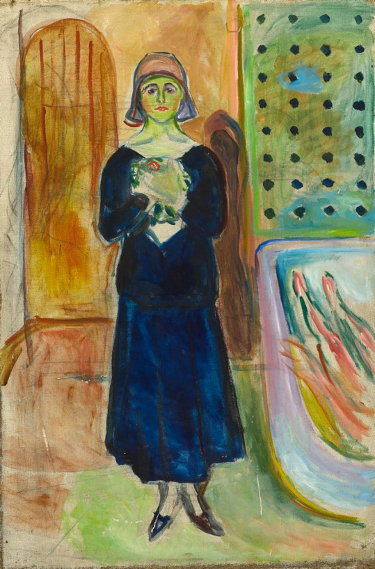 Edvard Munch (Norwegian, 1863-1944) 'Charlotte Corday' 1930