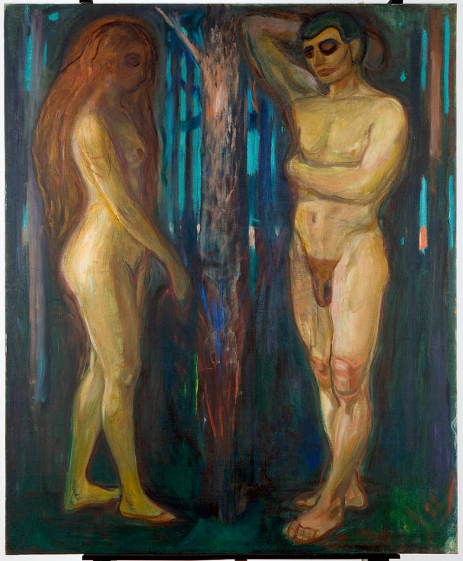 Edvard Munch (Norwegian, 1863-1944) 'Metabolism' 1898-99