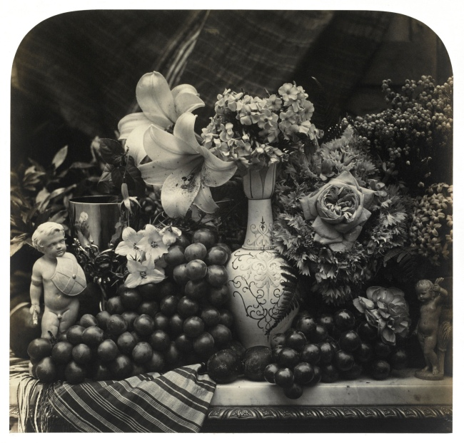 Roger Fenton. 'Fruit and Flowers' 1860