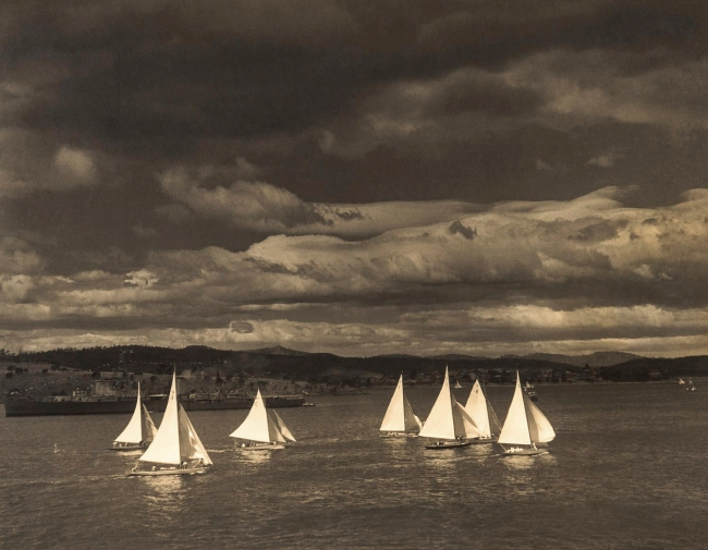 Max Dupain (Seven Yachts in the Bay) Nd
