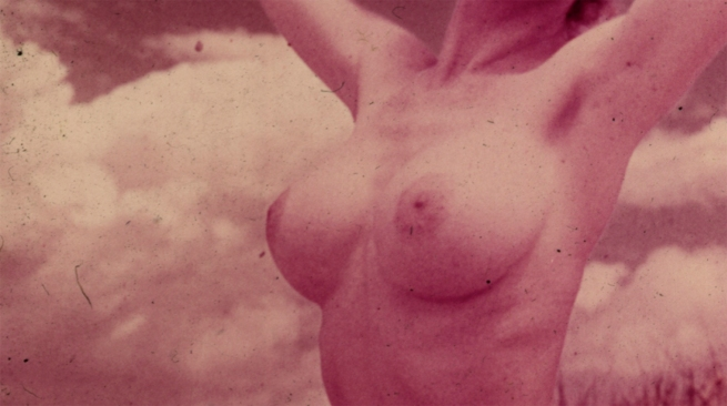 Unknown photographer (Australian?). 'Nude portrait' 1960s? (detail unrestored)