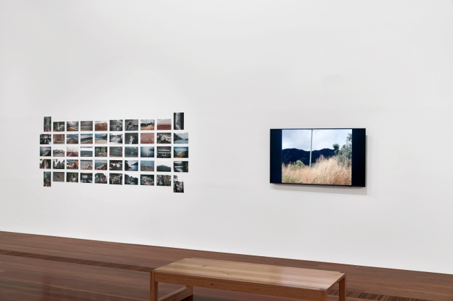 Installation view of 'Postcards from Mummy' 1998