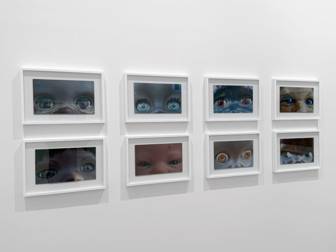 Destiny Deacon (Kuku/Erub/Mer b. Australia 1957) 'Dolly eyes' (A-H) 2020 (installation view)