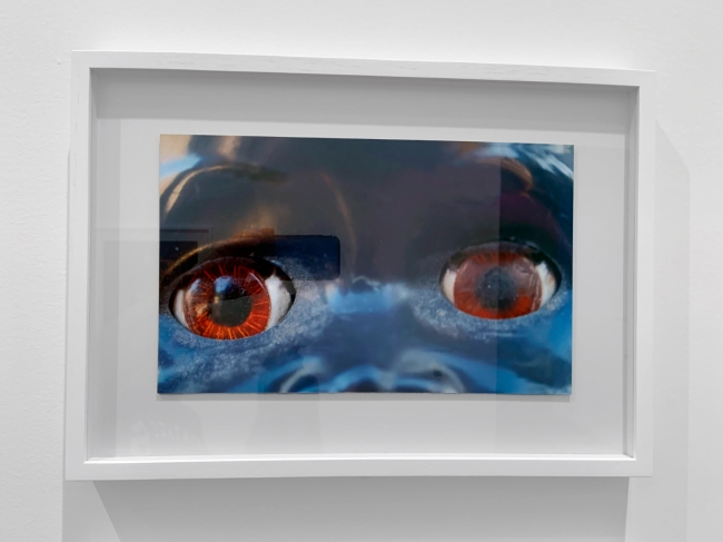 Destiny Deacon (Kuku/Erub/Mer b. Australia 1957) 'Dolly eyes' (A-H) 2020 (installation view detail)