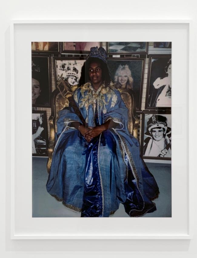 Destiny Deacon (Kuku/Erub/Mer b. Australia 1957) 'Moomba princess' 2004 (installation view)