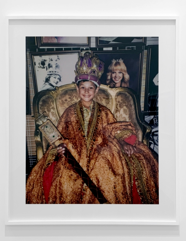 Destiny Deacon (Kuku/Erub/Mer b. Australia 1957) 'Moomba princeling' 2004 (installation view)