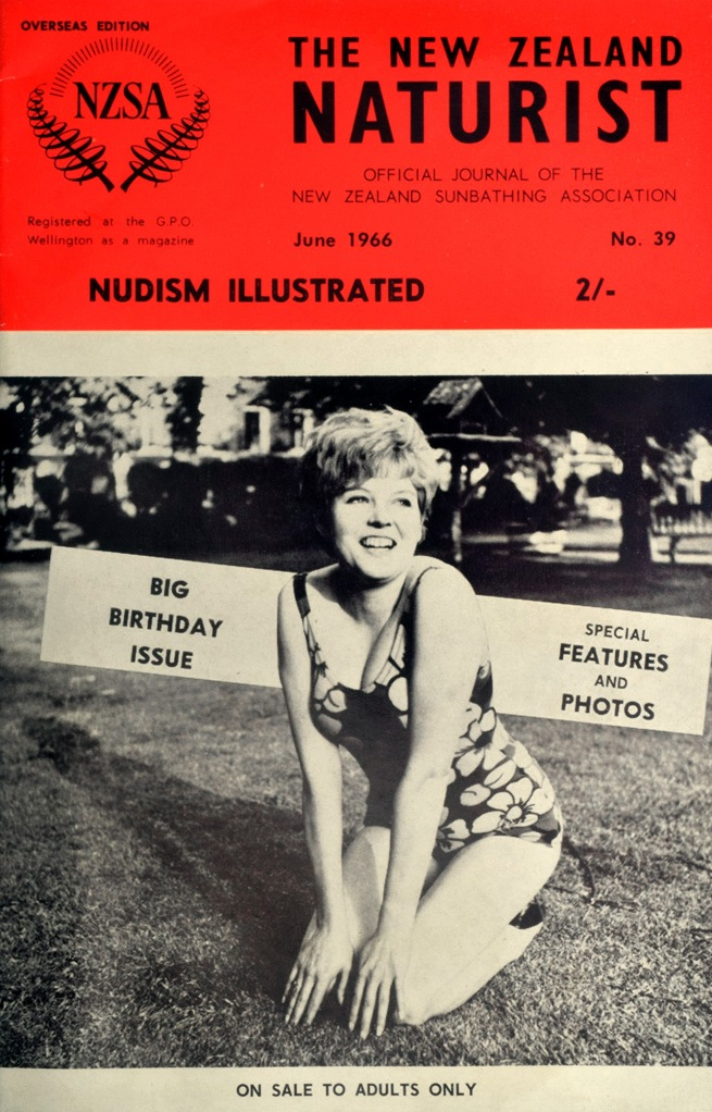'New Zealand Naturist Magazine' #39 June 1966 Naturism Nudism Adult Pamphlet