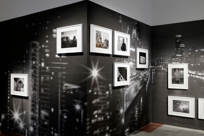 Installation view of DESTINY at The Ian Potter Centre: NGV Australia, Melbourne, 2020 showing Destiny Deacon and Virginia Fraser's Melbourne Noir 2013