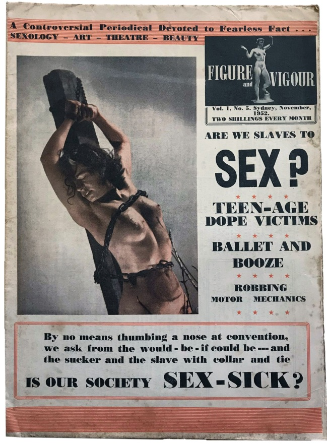 """Are We Slaves to Sex?"" in 'Figure and Vigour' Vol. 1, No. 5 November 1952"