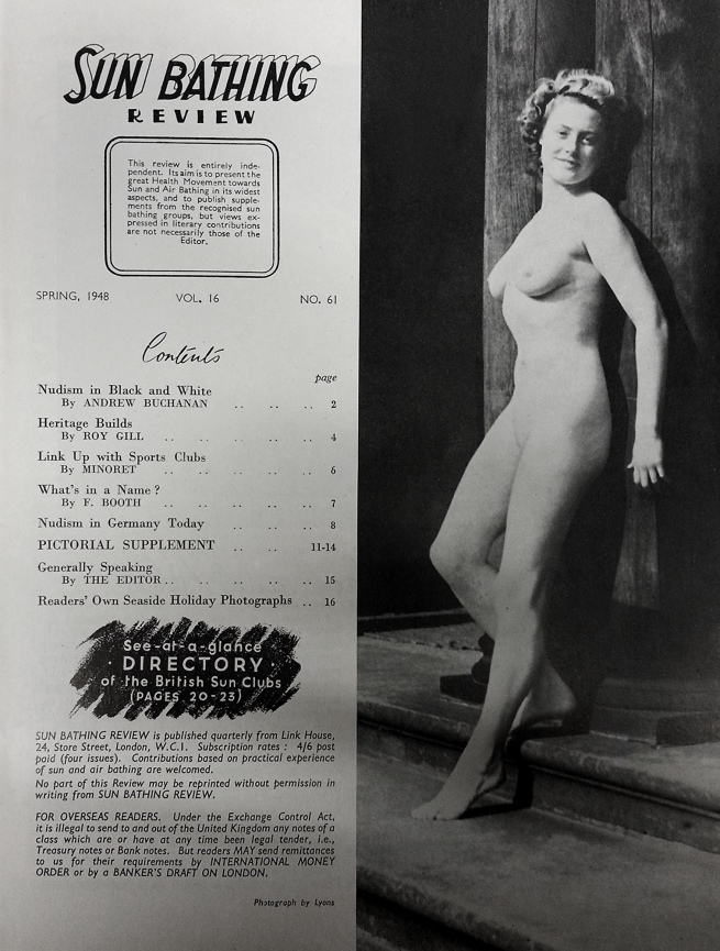 'Sun Bathing Review' Vol. 16, No. 61 Spring 1958