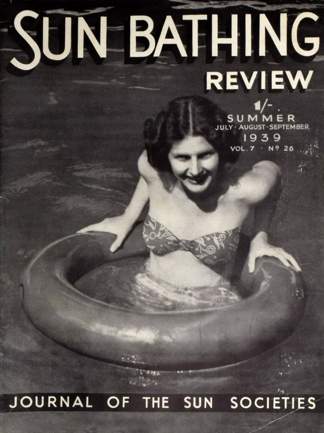 Sun Bathing Review Summer 1939