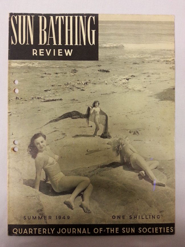 Sun Bathing Review Summer 1949