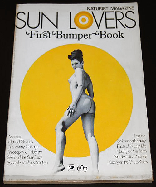 Sun Lovers First Bumper Book Jan 1972