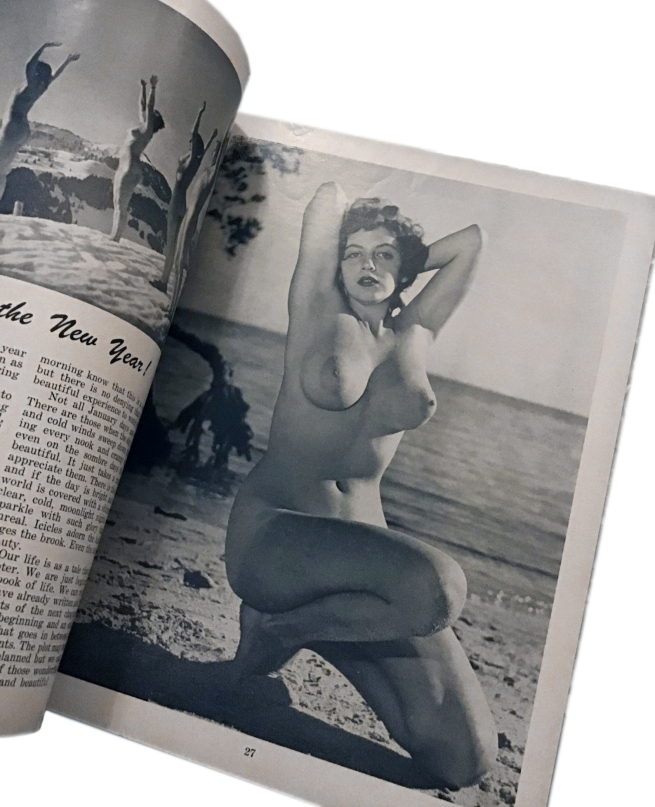 Sunbathing For Health January 1956