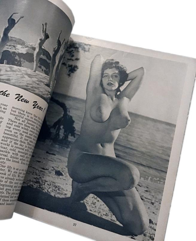 Sunbathing For Health January 1956